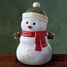 Snowman Cookie Jar Gift