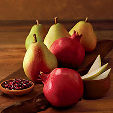 Giant Pears and Pomegranates