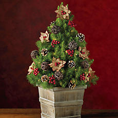 Rustic Mini Christmas Tree