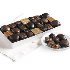 Fannie May® Chocolate Nut and Caramel Assortment - One Pound
