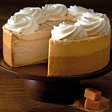 The Cheesecake Factory® Dulce de Leche Caramel Cheesecake