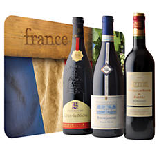 French Wine Trio