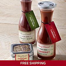 Steak Sauce and Rub Sampler