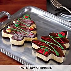 Christmas Cheesecake Duo