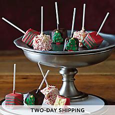 Holiday Cheesecake Bites