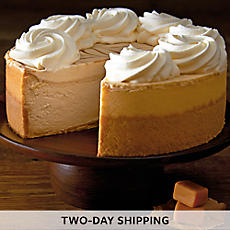 The Cheesecake Factory® Dulce de Leche Caramel Cheesecake