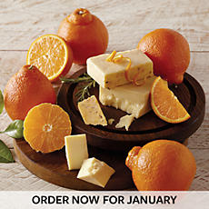 Cushman's® HoneyBells and Orange Rosemary Cheddar