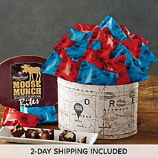 Chocolate Moose Munch® Bites Tin