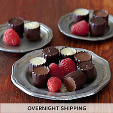 Chocolate-Covered Raspberries - One Dozen