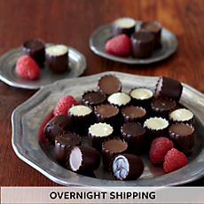 Chocolate Covered Raspberries - Two Dozen