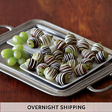 Hand-Dipped Chocolate-Covered Grapes - Two Dozen