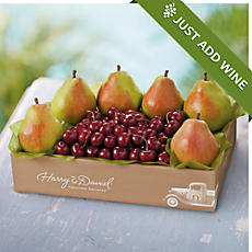 Father's Day Pears and Cherries Fruit Gift