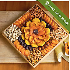 Gourmet Dried Fruit and Nut Snack Gift