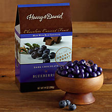 Dark Chocolate-Covered Blueberries