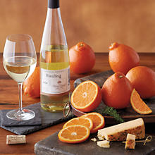 12-Month Fruit, Wine, and Cheese Club (Begins in February)