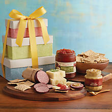 Spring Snacks Gift Tower