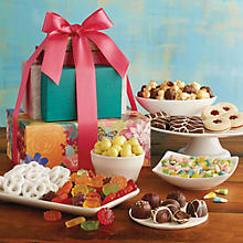 Spring Sweets Gift Tower