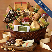 Deluxe Favorites Gift Basket