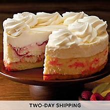 The Cheesecake Factory® Lemon Raspberry Cream Cheesecake