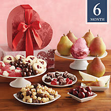 6-Month Valentine's Day Tower Fruit-of-The-Month Club® Collection