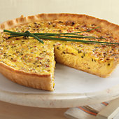 Caramelized Onion & Bacon Quiche