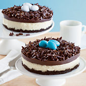 Birds' Nest Cheesecakes