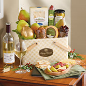 Picnic Gift with Wine