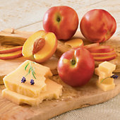 Nectarines and Promotory Cheese
