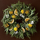 NEW Lemon Wreath
