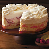 The Cheesecake Factory® Lemon Raspberry Cream Cheesecake
