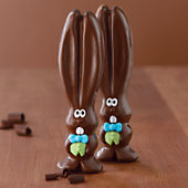 Ears The Chocolate Easter Bunny Duo