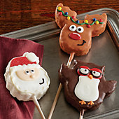 Holiday Krispy Pops