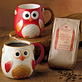 Autumn Owls Coffee Gift