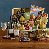 Favorite Gourmet Foods Trunk with Wine