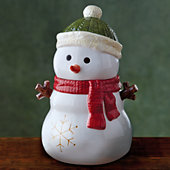 Snowman Cookie Jar Gift