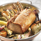 Stock Yards Five-Bone Natural Pork Roast