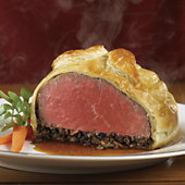 Stock Yards Beef Wellington Entrées - Six Eight-Ounce Pieces
