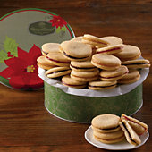 Holiday Galette Cookie Gift Tin