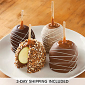 Chocolate Caramel Dipped Apples