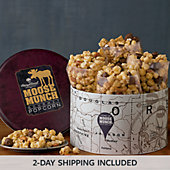Moose Munch® Gourmet Popcorn Tin