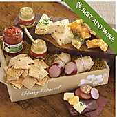 Sausage, Cheese and Crackers Gift Box Grand Deluxe