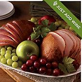 Spiral-Sliced Ham and Turkey