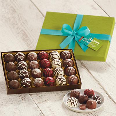 Birthday Chocolate Truffles