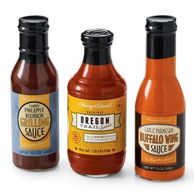 Pick 3 BBQ Sauces