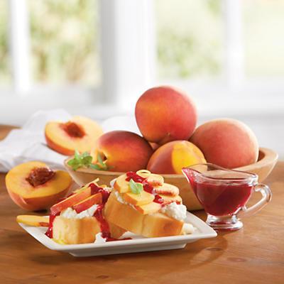Peaches and Poundcake