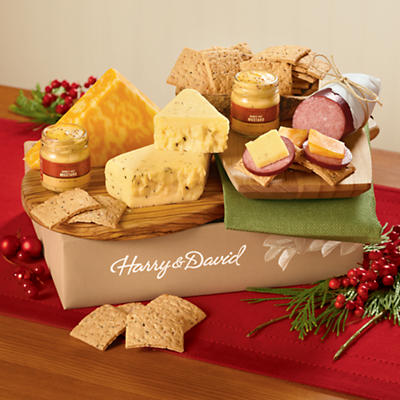 Sausage, Cheese and Crackers Gift Box Delight