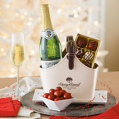 Hostess Gift with Sparkling Cider