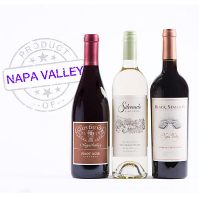 Napa Valley Wine Trio