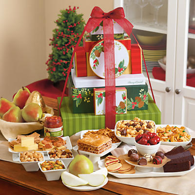 Holiday Tower of Treats® Gift Grand Deluxe