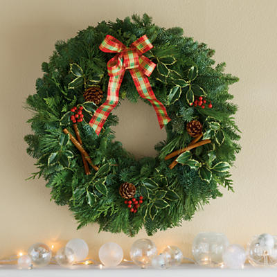 <span style=color:#bb0011>NEW</span> Holiday Wreath
